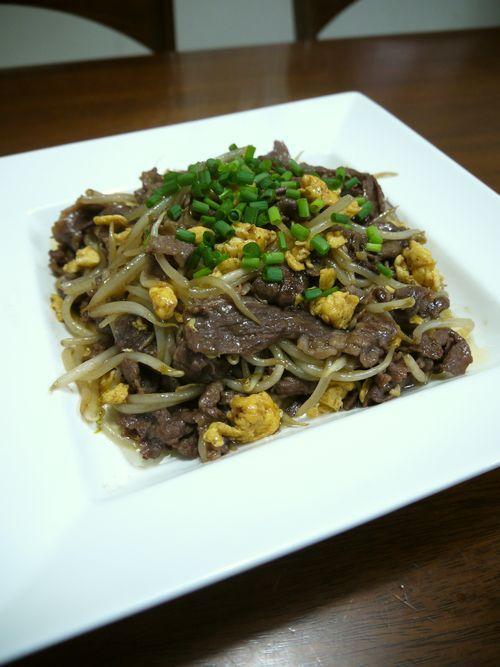 牛肉ともやしの中華炒め☆オイスター風味 教えてあげたいわたしの毎日ごはん マイごはん