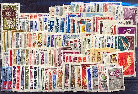 Годовой комплект марок за 1961 год, СССР - купить по выгодной цене в разделе дом и сад интернет-магазина OZON.ru 10.800руб