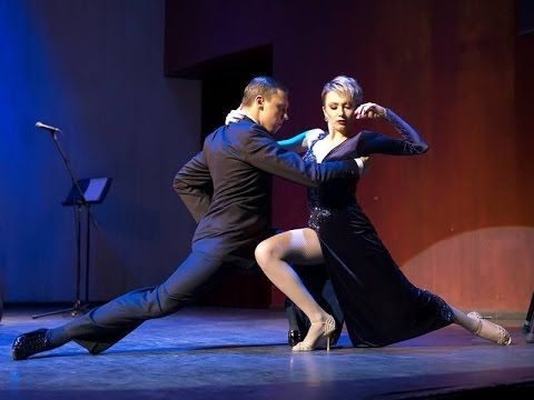 "Tango ""El huracan"". Sergey Kurkatov and Yulia Burenicheva  with ""Solo Ta..."