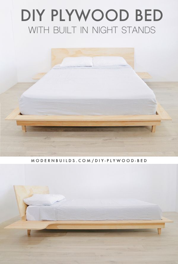Plywood Bed Google Search Bedroom Bed Design Plywood Bed Designs Bed Frame Design