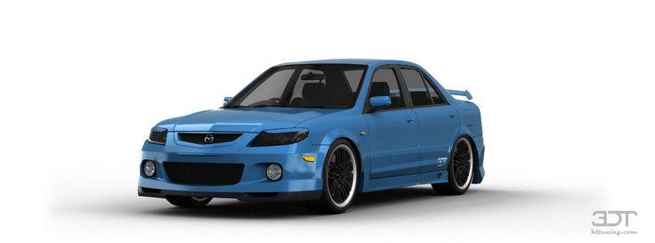 Tuning Of Mazda Familia sedan 2001 - 3DTuning