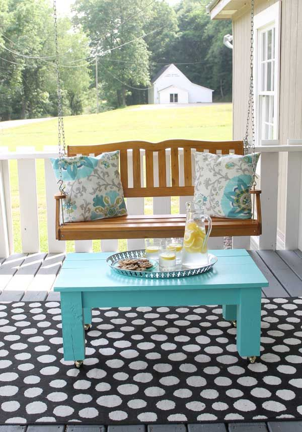 2014 summer decorating ideas   Our porch gets a lot of action in the summer, from kids to family and ...