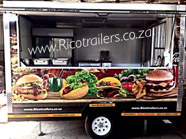 Mobile Kitchen Trailer Manufacturer