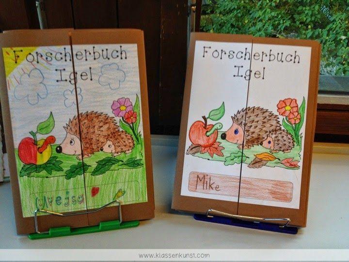 Lapbooks in der Grundschule: Sachunterricht Forscherbuch zum Igel
