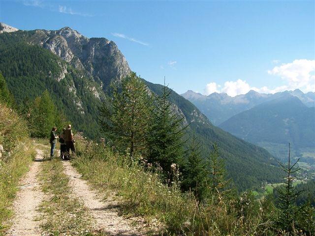 Una delle molte passeggiate estive in Val di Fiemme
