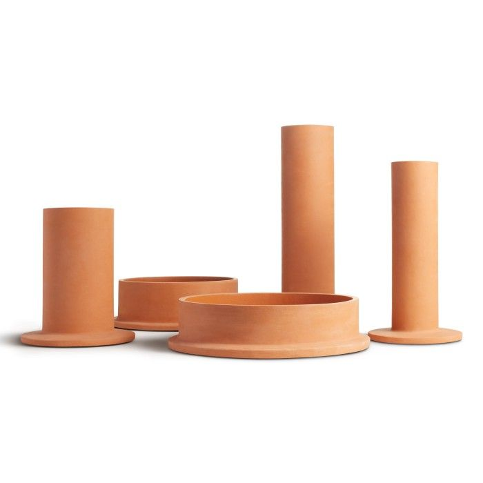 Amazing Flange Large Vessel Is A Modern Large Vase Featured From Blu Dotu0027s Flange  Collection Of Terra Cotta Vases. Shop Modern Table Decor At Blu Dot.