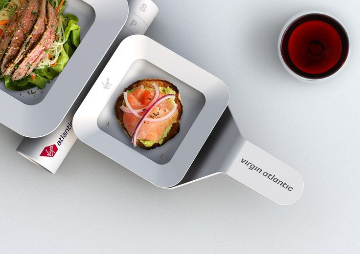 Virgin Atlantic Meal Service | Modular | Detail View