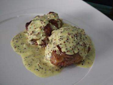 Receita de Filé mignon ao molho de mostarda - Tudo Gostoso