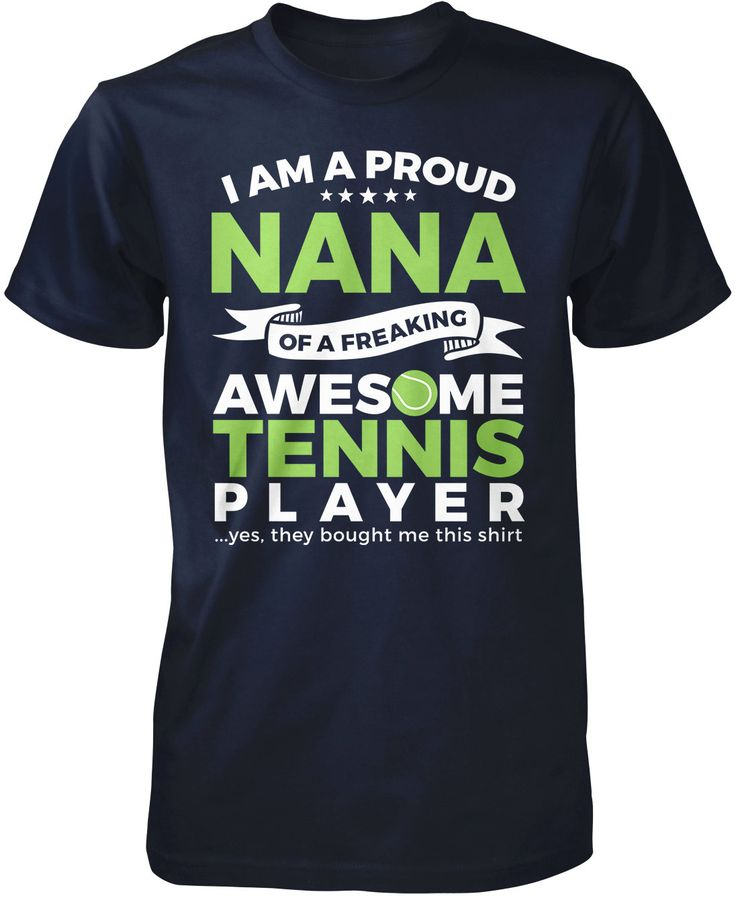 Proud Nana of An Awesome Tennis Player