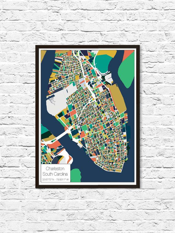 The 25 best charleston map ideas on pinterest charleston sc map historic charleston sc hey i found this really awesome etsy listing at https malvernweather Image collections