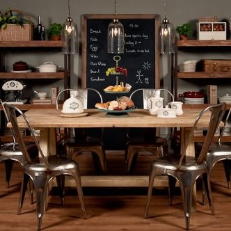 Best Industrial Furniture Images On Pinterest Industrial - Industrial dining room table