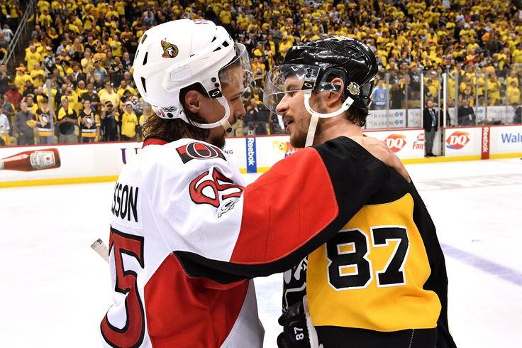 May 25, 2017 at Ottawa (Round 3, Game 7): Chris Kunitz scored his second goal of the game in double overtime to help the #Pens to the Stanley Cup Final. Final Score, 3-2 Penguins (2OT).