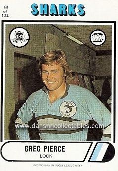 1976 68 Cronulla Sharks