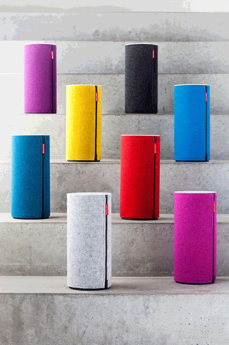 Libratone Zipp Speaker | Designed by Kristian Krøyer #gadgetfrenzy                                                                                                                                                     More