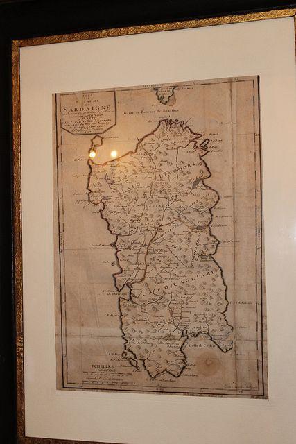Mappa Sardegna 1717 by Steci, via Flickr