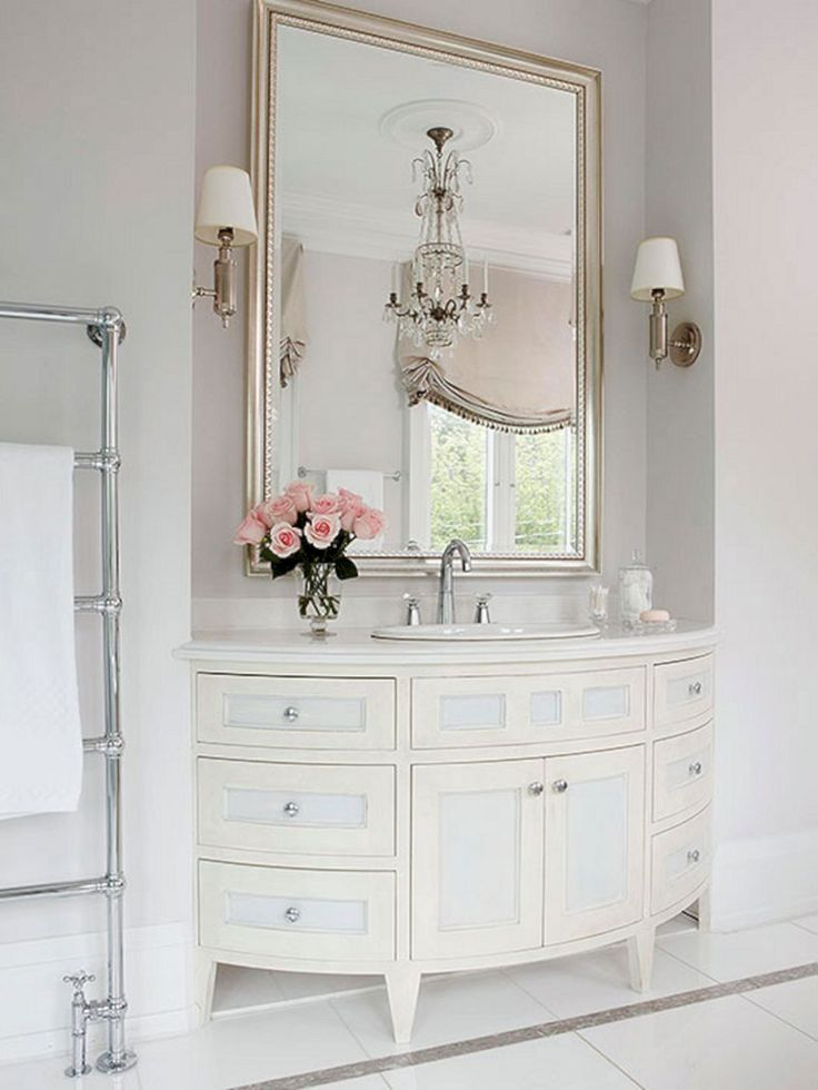 1841 best bathroom vanities images on pinterest master - White bathroom ideas photo gallery ...