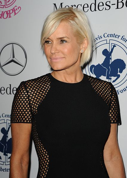 Yolanda Foster Net Worth 2014 | Yolanda Foster attends the 2014 Carousel of Hope Ball at The Beverly ...