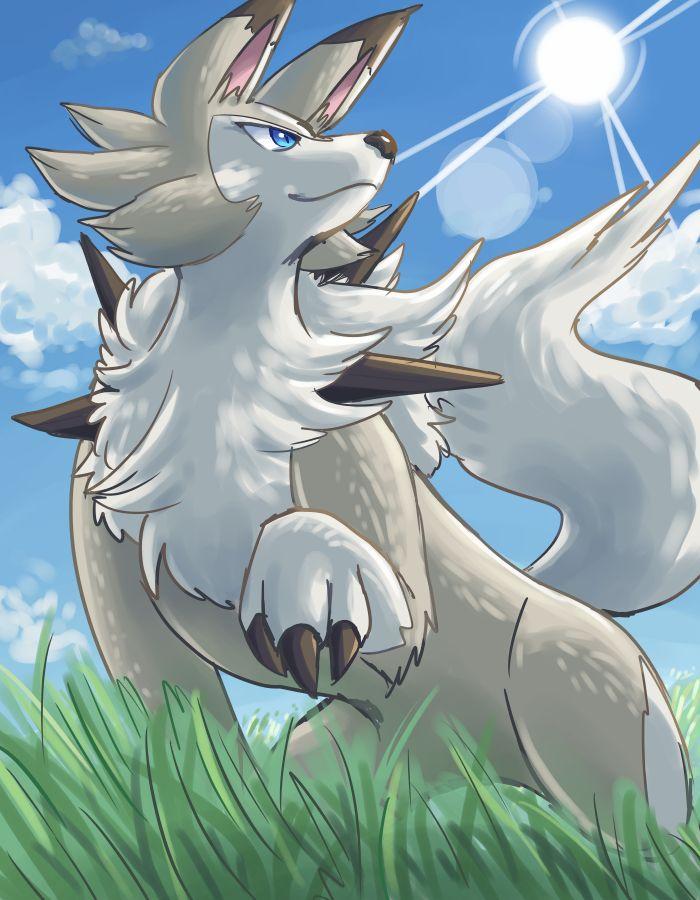 Lugarugan (Day) by Peegeray on DeviantArt <<< new dog Pokémon?