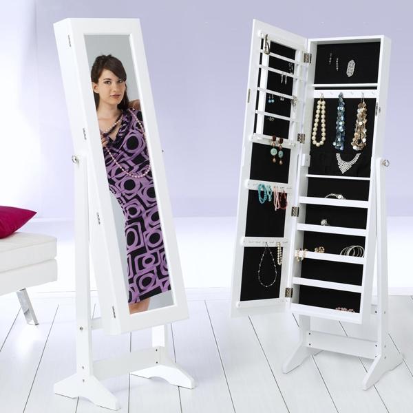 Schmuckschrank mit Spiegel im Online Shop des schweizer Versandhaus Vedia bestellen