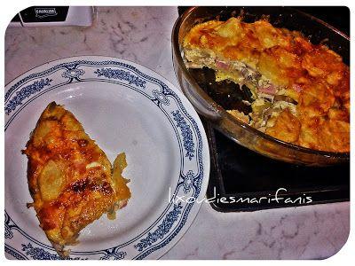 Ομελέτα φούρνου με μανιτάρια