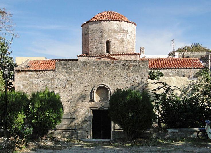 Agia Paraskevi Church, Mesanagros village, Rhodes, Greece