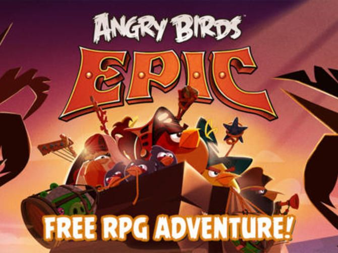 Rovio unleashes its latest Angry Birds mobile game. Unlike earlier games in the franchise, Epic is a role-playing game.