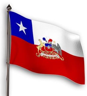 Bandera y simbolo Patrio de Chile