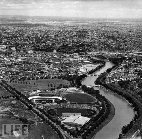 1956 Melbourne Olympic Stadium