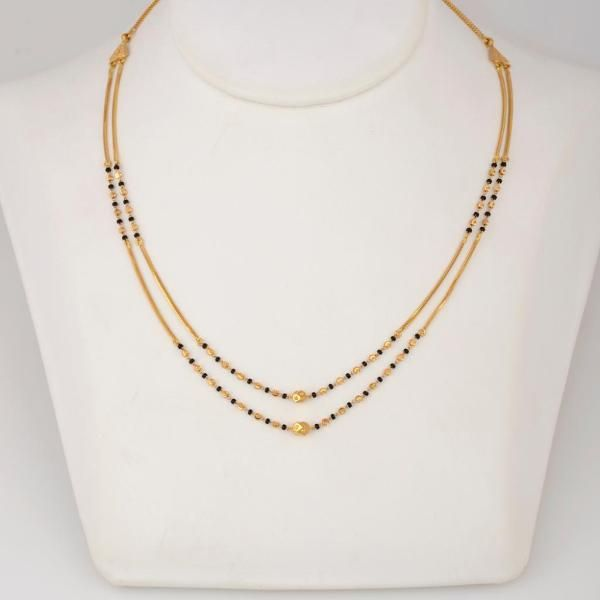 Product - WHPS8.121 | Mangalsutra | Gold | Jewellery