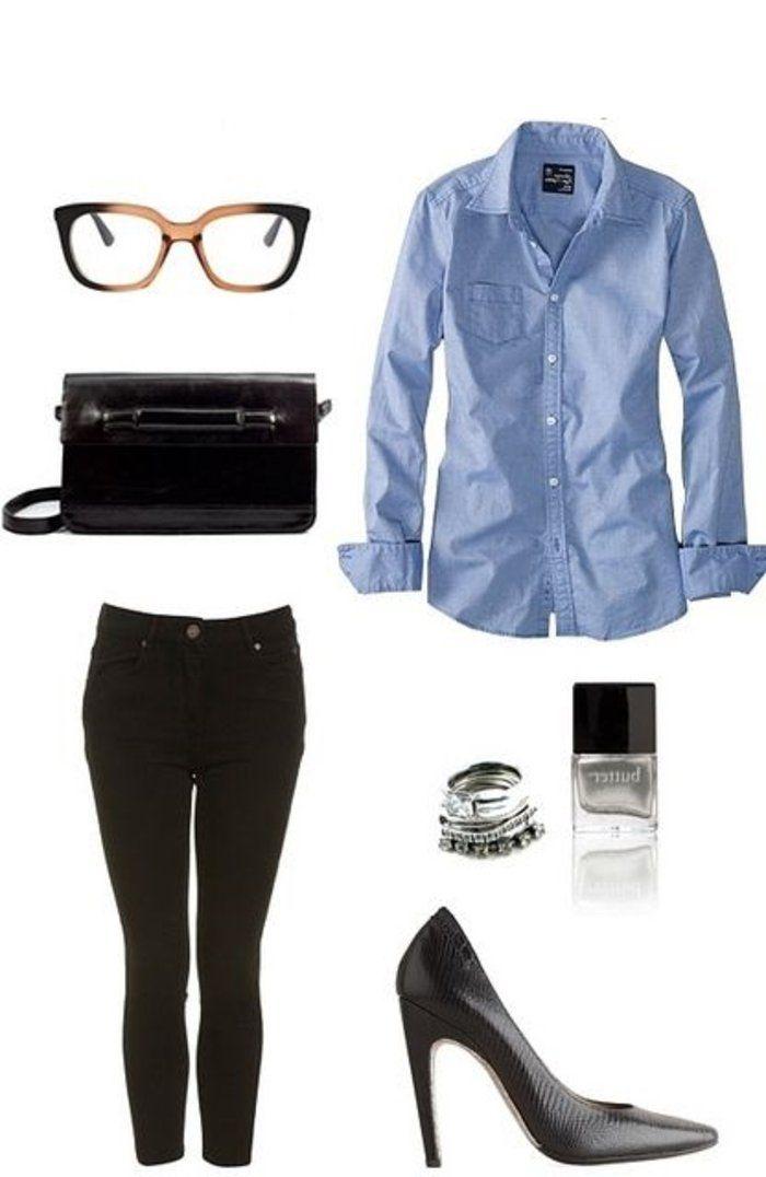 best 10 tenue chic femme ideas on pinterest tenue classe femme pantalon classique femme and. Black Bedroom Furniture Sets. Home Design Ideas