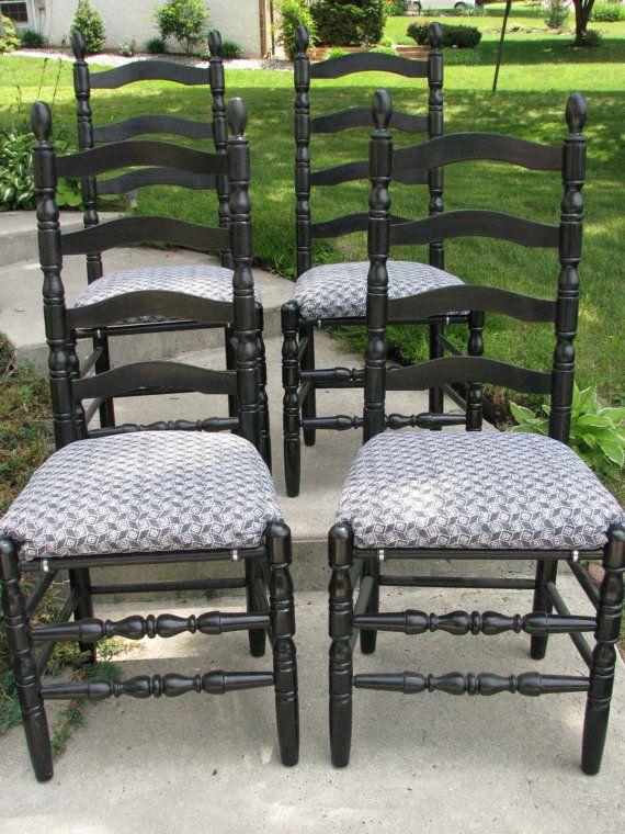 Best 20 Ladder Back Chairs Ideas On Pinterest Ladders Farmhouse Outdoor B
