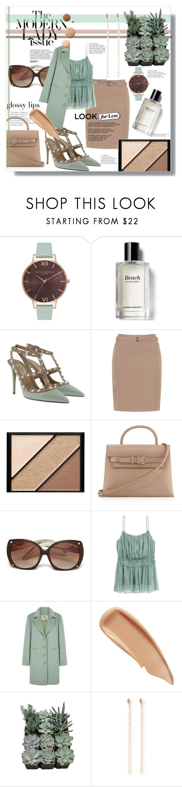"""Untitled #1331"" by sugarmoonmama ❤ liked on Polyvore featuring Olivia Burton, Bobbi Brown Cosmetics, Valentino, Manon Baptiste, Elizabeth Arden, Alexander Wang, Tom Ford, Hedi Slimane, Yumi and Sisley"