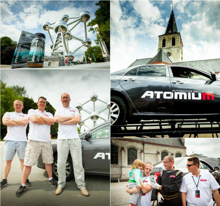"""Совместный пробег Smotra Run 2015 в сопровождении  Atomium.eu - Бельгия  Совместно с командой  """"Супротек"""" автоколонна Smotra Run 2015 достигла столицы Бельгии - Брюсселя, где показала автомобиль """"Королла"""", работающий без масла. Итог - филигранный язык жестов  в сопровождении некоторых английских слов и искреннее радушие и улыбки на лицах представителей """"Супротек"""" в Европе.  #супротекотзывы #автохимия #триботехнический_состав #авто #auto #suprotec #smotrarun #smotra #пробег2015"""