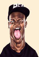 your boy Ksiolajidebt  #caricature #ksi #ksiolajidebt #digitalpainting #portrait