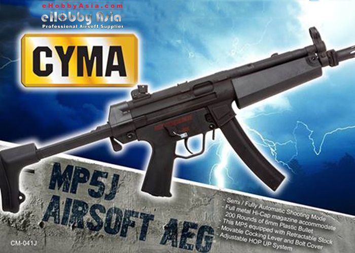 CYMA MP5J AEG At eHobby Asia