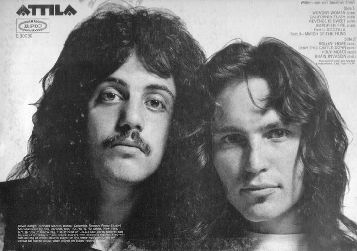Attila was the name of a band featuring a young Billy Joel. Description from thatericalper.com. I searched for this on bing.com/images