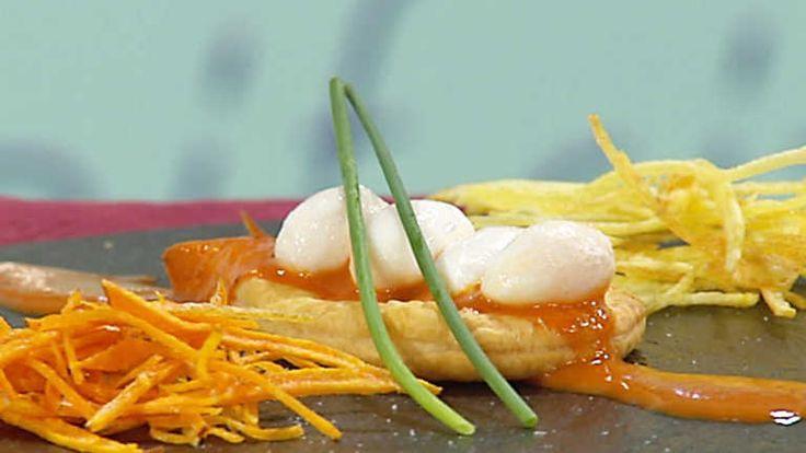 Huevos de codorniz escalfados con mojo exprés - RTVE.es
