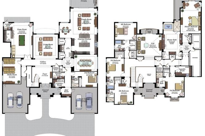 9275 Beaujolais Ave Delray Beach Fl House Construction Plan House Blueprints House Layouts