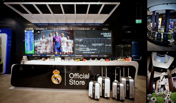 Real Madrid Official Store – sanzpont [arquitectura] en http://www.arquitour.com