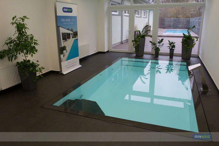 Inside showroom » niveko-pools.com #lifestyle #design #health #summer #relaxation #architecture #pooldesign #gardendesign #pool #swimmingpool #pools #swimmingpools #niveko #nivekopools