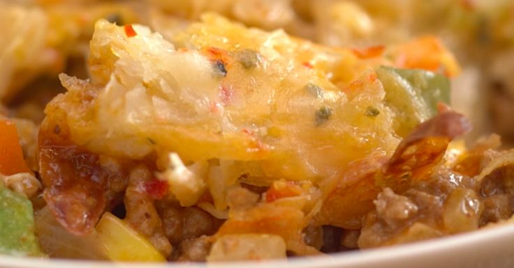 Substitute tomato soup with gluten free soup or ragu sauce. Cheesy Tex-Mex Taco Casserole