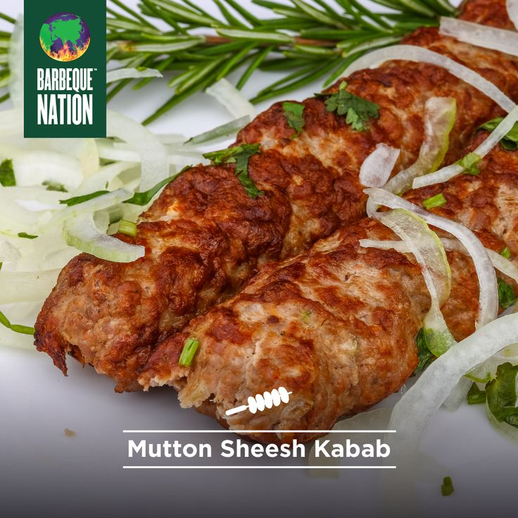 Juicy mutton meets a heavenly assortment of spices. #comefeastwithus at Barbeque Nation to taste it in all its glory.  Download the Barbeque Nation Mobile App now.  #barbequenation #bbq #bbqn #barbecue #barbeque #foodies #mutton #foodphotography #instafood #kebabs #kabab