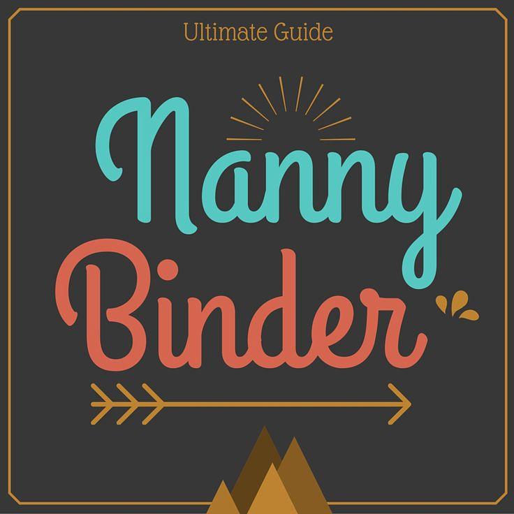 The 25+ best Nanny binder ideas on Pinterest | Babysitting ...