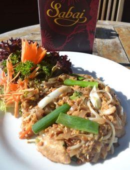 Thailand's famous noodle dish, Pad Thai