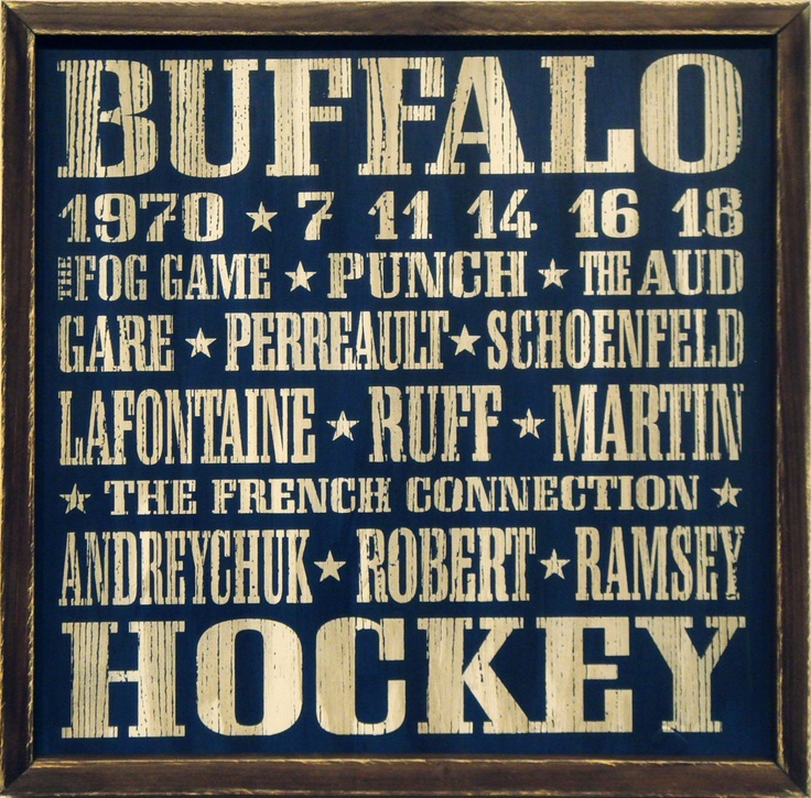 """Country Marketplace - Vintage Buffalo #Sabres Wood Sign 18"""" x 18"""", (http://www.countrymarketplaces.com/vintage-buffalo-sabres-wood-sign-18-x-18/)"""