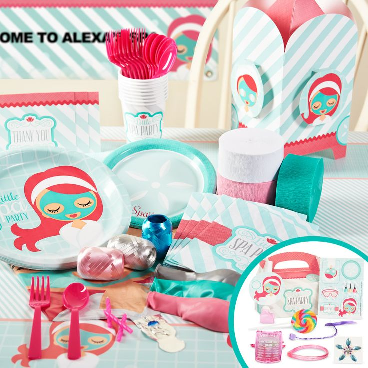 45 best images about SPA party – Little Girl Spa Party Invitations