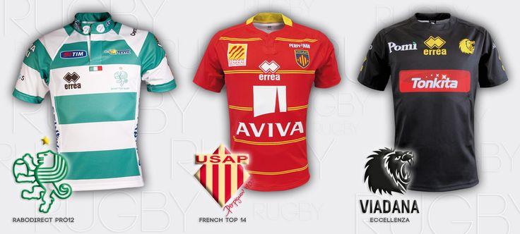 Errea Replica Rugby shirt
