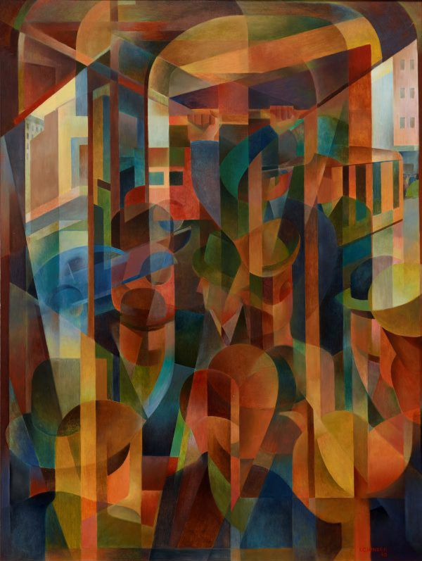 An image of Tram kaleidoscope by Frank Hinder