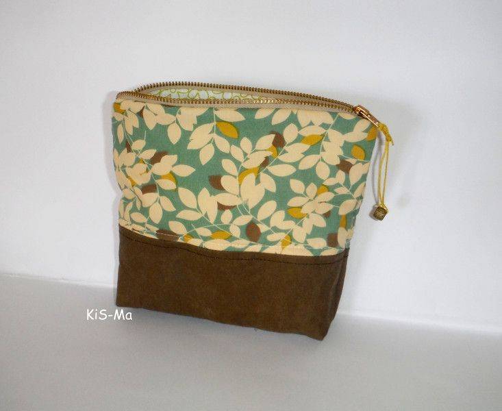 Kosmetiktasche Taschen-Organizer vegan von Taschen by KiS-Ma auf DaWanda.com