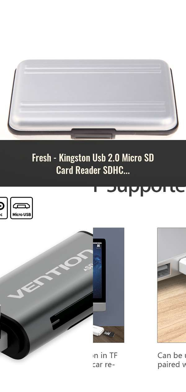 Mini High Speed USB 3.0 External Card Reader Stick for Micro SD SDHC SDXC Memory
